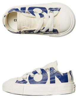 NATURAL BLUE KIDS TODDLER BOYS CONVERSE FOOTWEAR - 759535NABLU