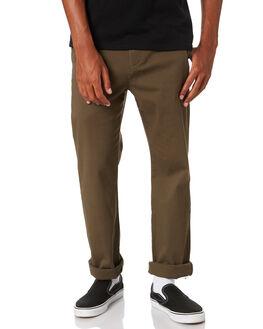 FIELD GREEN MENS CLOTHING GLOBE PANTS - GB02036000FGRN