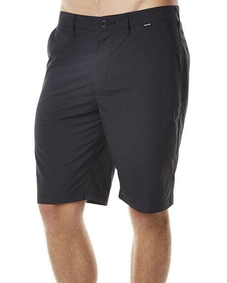 BLACK MENS CLOTHING HURLEY SHORTS - MWS000181000A