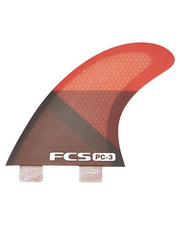RED SURF HARDWARE FCS FINS - PC03-133-23-RSMO