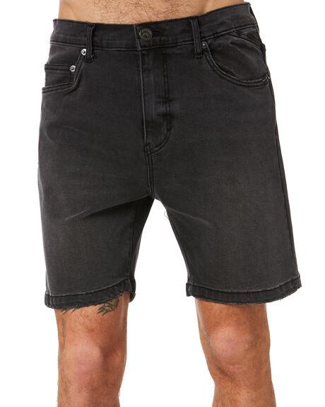 BLACK MENS CLOTHING RUSTY SHORTS - WKM1006BLK