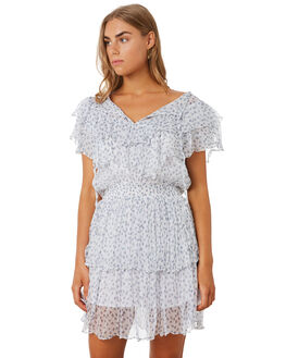 FLORAL SCATTER WHITE WOMENS CLOTHING MLM LABEL DRESSES - MLM526DFLR