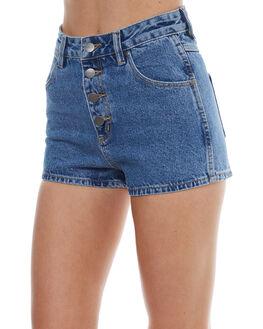 CLAUDIA STONE WOMENS CLOTHING WRANGLER SHORTS - W-950884-DG9CLAU