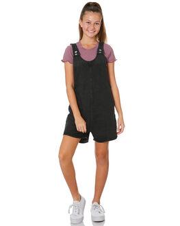 BLACK KIDS GIRLS EVES SISTER DRESSES + PLAYSUITS - 9540008BLK