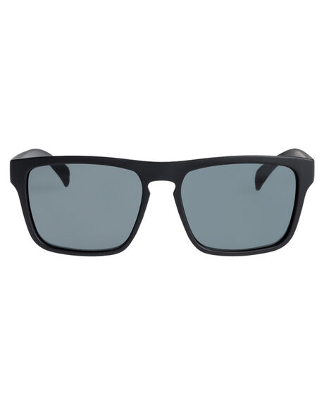 MATTE BALCK GREEN KIDS BOYS QUIKSILVER SUNGLASSES - EQBEY03006XMKG