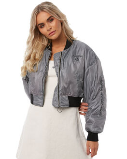 CHECK WOMENS CLOTHING STUSSY JACKETS - ST181702CHECK