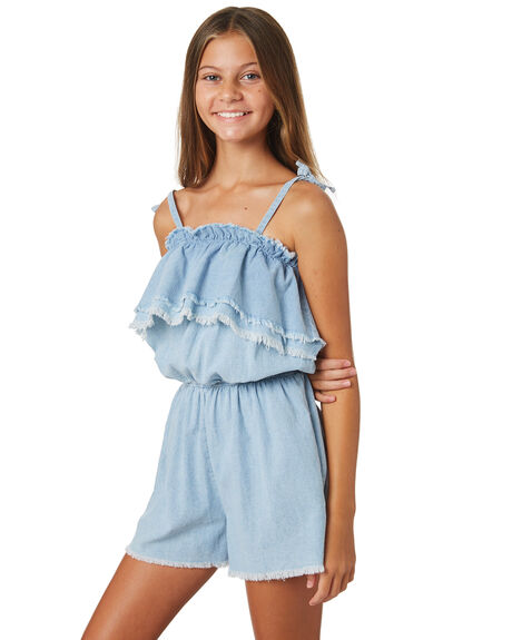 DENIM KIDS GIRLS EVES SISTER DRESSES + PLAYSUITS - 9920067DNM