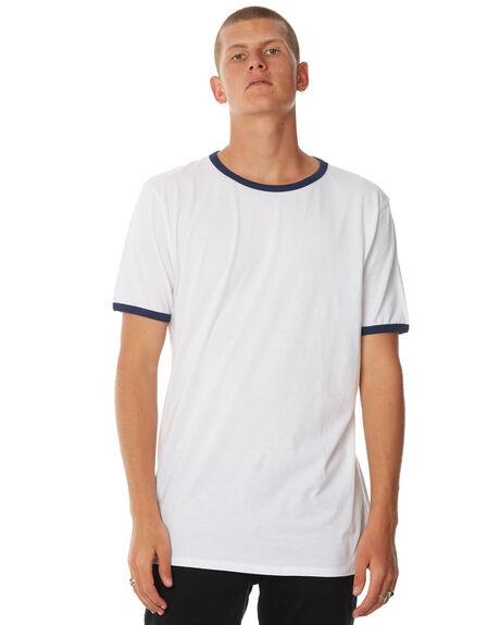 WHITE NAVY MENS CLOTHING SWELL TEES - S5174016WHTNY
