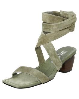 KHAKI WOMENS FOOTWEAR SOL SANA HEELS - SS192S405KHAK