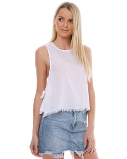 WHITE OUTLET WOMENS THE HIDDEN WAY FASHION TOPS - H8174172WHITE