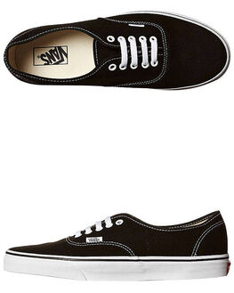 BLACK WOMENS FOOTWEAR VANS SKATE SHOES - SSVN-0EE3BLKW