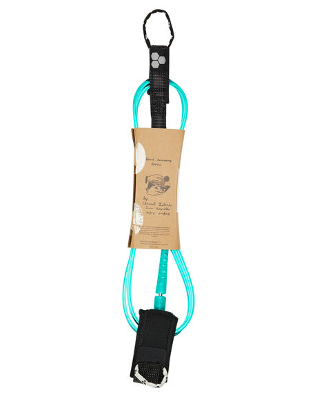 CLEAR TURQUOISE BOARDSPORTS SURF CHANNEL ISLANDS LEASHES - 13119102439CLRTQ