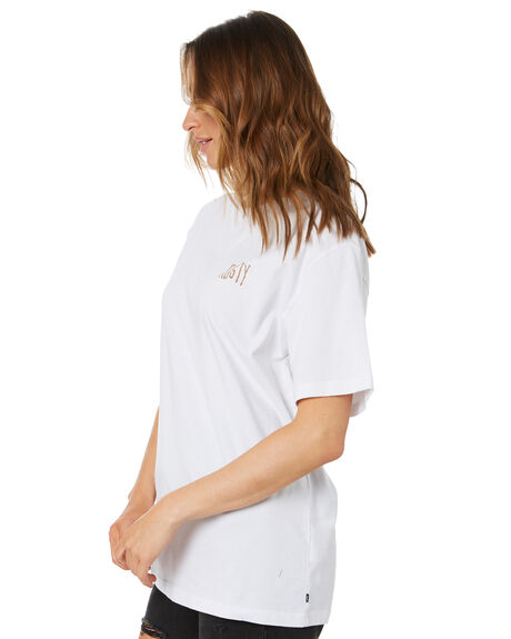 WHITE OUTLET WOMENS RUSTY TEES - TTL1144WHT