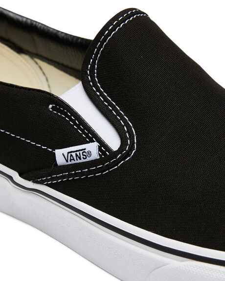BLACK MENS FOOTWEAR VANS SKATE SHOES - SSVN-0EYEBLKM