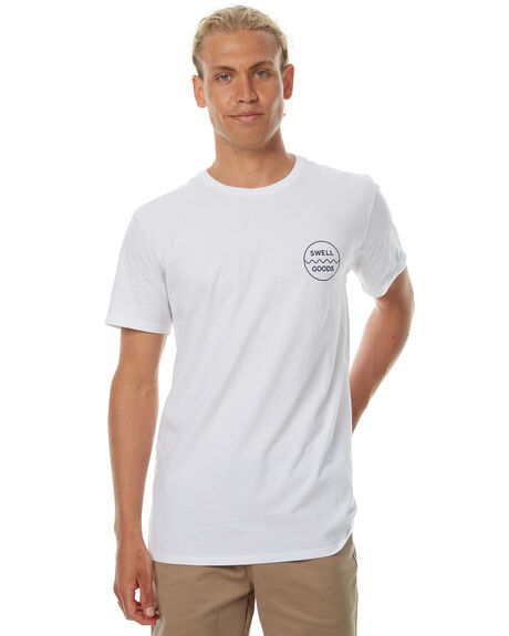 WHITE MENS CLOTHING SWELL TEES - S5174017WHT