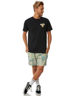 GREEN FORAL MENS CLOTHING DEUS EX MACHINA BOARDSHORTS - DMS72964GRN