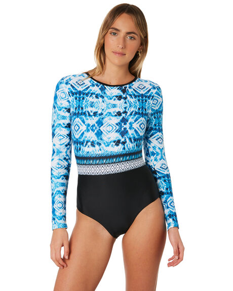 SEA BLUE WOMENS SWIMWEAR RUSTY ONE PIECES - SWL1380SEA