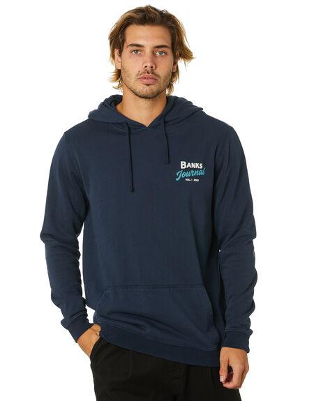 DIRTY DENIM MENS CLOTHING BANKS JUMPERS - WFL0230DDN