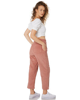 BLUSH WOMENS CLOTHING FEATHER DRUM PANTS - FDW94BLUSH