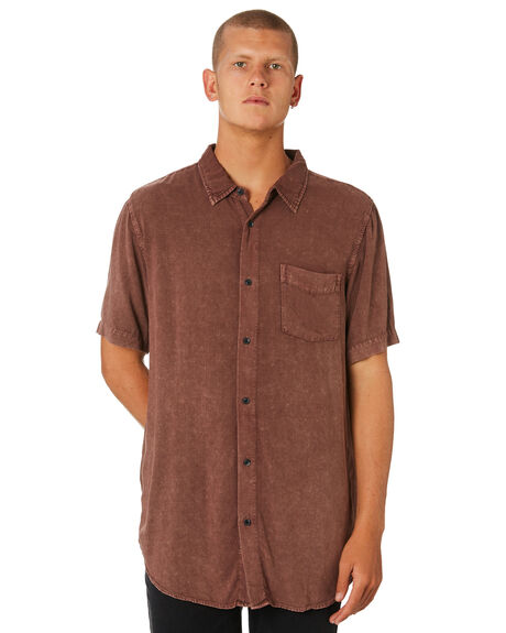 RED MENS CLOTHING INSIGHT SHIRTS - 1000061473RED