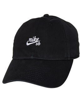 BLACK WHITE MENS ACCESSORIES NIKE HEADWEAR - 926687010