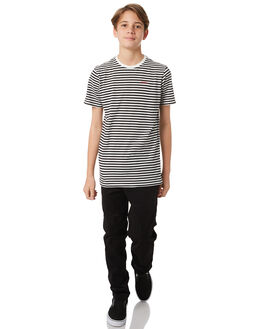 BLACK KIDS BOYS SWELL TEES - S3184022BLACK