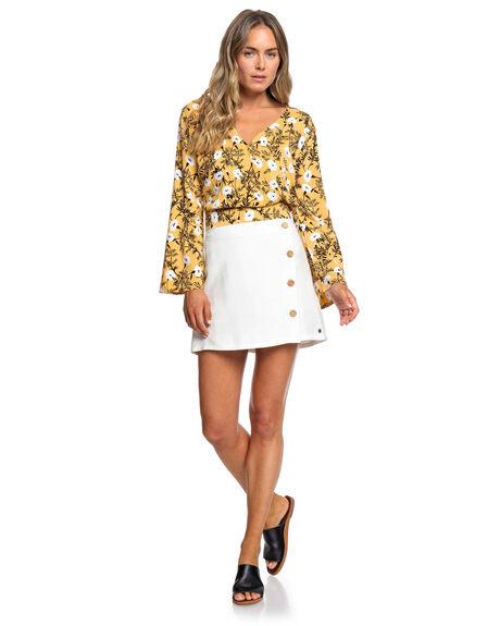 HONEY GOLD HONEY WOMENS CLOTHING ROXY FASHION TOPS - ERJWT03359-YJY6