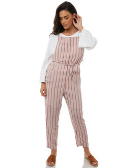DESERT STRIPE WOMENS CLOTHING ZULU AND ZEPHYR PLAYSUITS + OVERALLS - ZZ1806DES