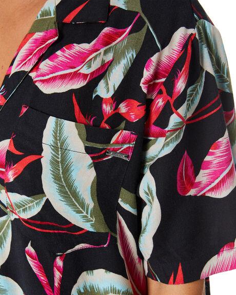 BLACK COMBO WOMENS CLOTHING VOLCOM DRESSES - B0432107BLKCB