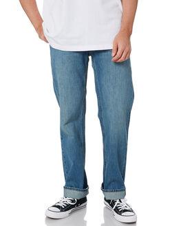 FADED INDIGO MENS CLOTHING BRIXTON JEANS - 04099FINDI