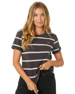FORGED IRON STRIPE WOMENS CLOTHING LEVI'S TEES - 39185-0063FORG