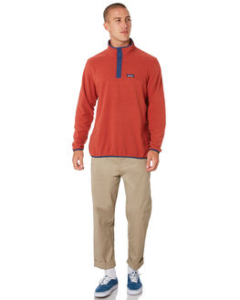 NEW ADOBE MENS CLOTHING PATAGONIA JUMPERS - 26165NAD