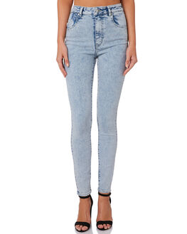 FRANKI BLUE WOMENS CLOTHING ROLLAS JEANS - 131154673