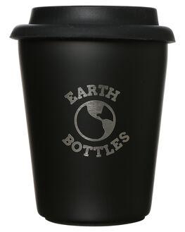 BLACK MENS ACCESSORIES EARTH BOTTLES DRINKWARE - CN300BLK