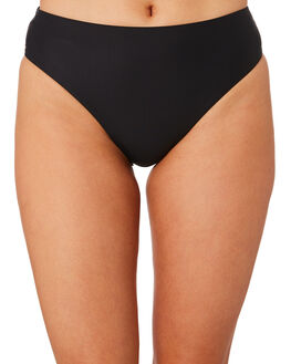 BLACK WOMENS SWIMWEAR MOONTIDE BIKINI BOTTOMS - M7803CNBLK