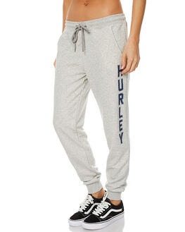 HEATHER GREY WOMENS CLOTHING HURLEY PANTS - AGPTOXP05A