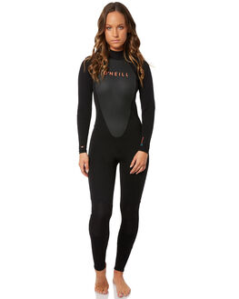 BLACK BLACK SURF WETSUITS O'NEILL STEAMERS - 3800OAA05
