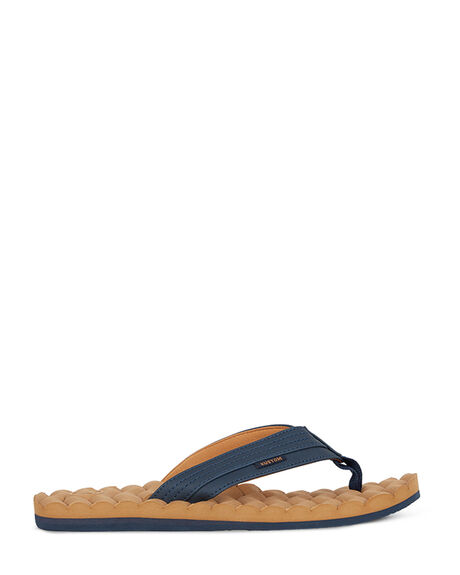NAVY TOBACCO MENS FOOTWEAR KUSTOM THONGS - KS-4993216-NYO