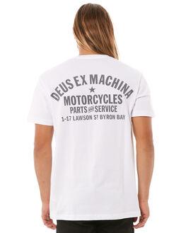 WHITE MENS CLOTHING DEUS EX MACHINA TEES - DMW41808PWHI
