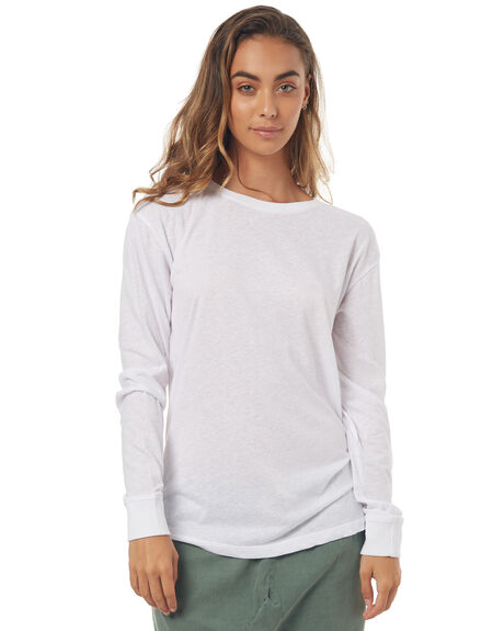 WHITE WOMENS CLOTHING BILLABONG TEES - 6571072WHITE