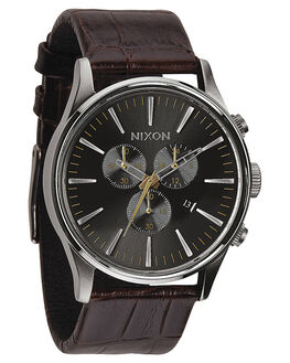 BROWN GATOR MENS ACCESSORIES NIXON WATCHES - A4051887