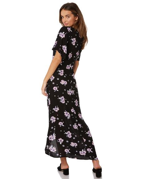 FLORAL BOUQUET PRINT OUTLET WOMENS SASS DRESSES - 12790DWSSMUL