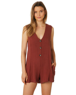 HENNA WOMENS CLOTHING RHYTHM PLAYSUITS + OVERALLS - APR19W-JS02-HEN