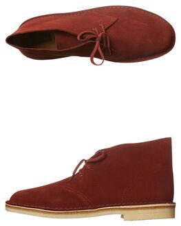 NUT BROWN MENS FOOTWEAR CLARKS ORIGINALS BOOTS - SS26118-559M
