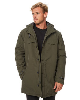 FOREST NIGHT MENS CLOTHING QUIKSILVER JACKETS - EQYJK03316FRST