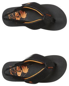 BLACK ORANGE KIDS TODDLER BOYS RIP CURL FOOTWEAR - TOTGH11163