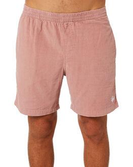 DUSTY PINK MENS CLOTHING STUSSY SHORTS - ST082601DPNK