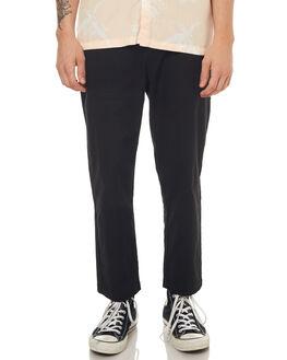 BLACK MENS CLOTHING NO NEWS PANTS - N5171191BLACK