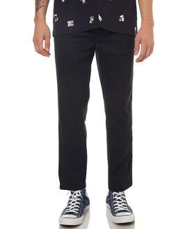 BLACK MENS CLOTHING NO NEWS PANTS - N5171192BLACK