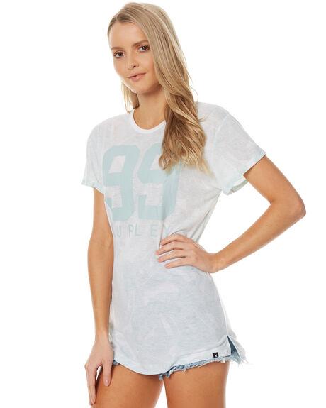 WHITE WOMENS CLOTHING HURLEY TEES - AGTSBLLA10A